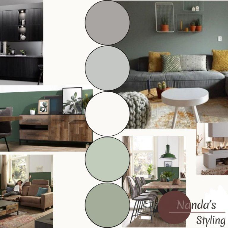 moodboard kleuradvies voor stijl en sfeer -vierkant-