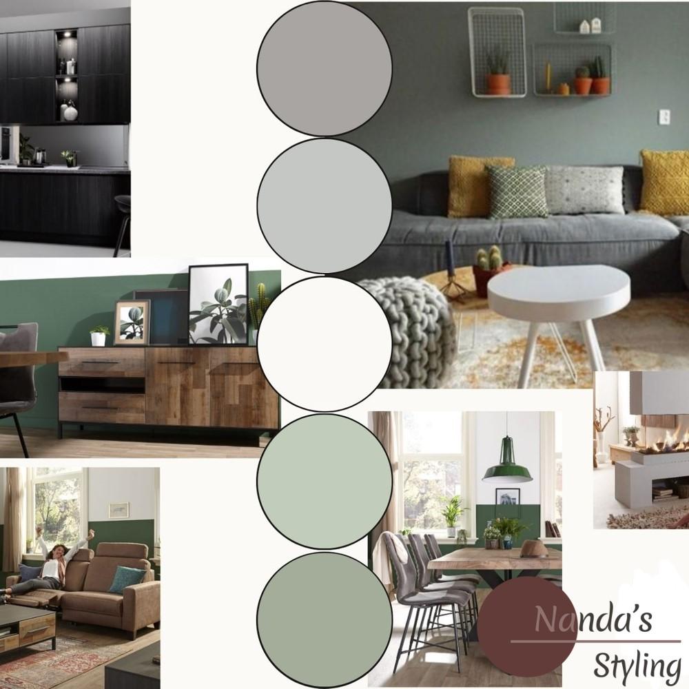 moodboard kleuradvies voor stijl en sfeer