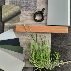 — interieuradvies kracht van de natuur – flatlay kleuradvies en materialen