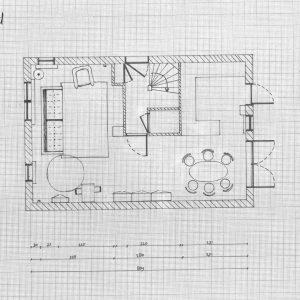 interieurplan woning bg