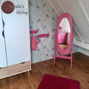 kinderkamerstyling romantisch Scandinavisch kinderkamerstylist Nanda's