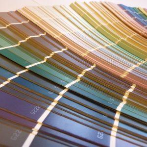 kleurenwaaier i