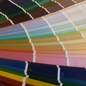 kleurenwaaier ii vierkant